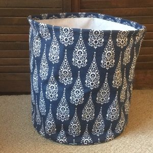 Rockflowerpaper canvas storage bin